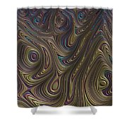 The Maze. Shower Curtain