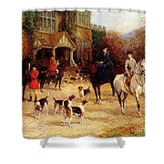 The Meet By Heywood Hardy Shower Curtain