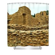 The Mission At Jemez Springs Shower Curtain