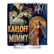 The Mummy 1932 Film Shower Curtain