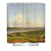 The Narrows From Staten Island Shower Curtain