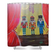 The Nutcrackers Shower Curtain