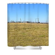 The Old Corral On The Hillock    Shower Curtain