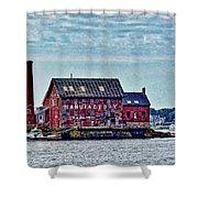 The Paint Factory, Gloucester, Massachusetts Shower Curtain