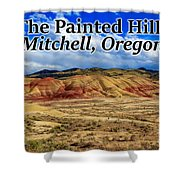 The Painted Hills Mitchell Oregon 02 Shower Curtain