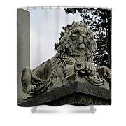 The Patterson Lion Shower Curtain