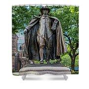 The Puritan Statue Shower Curtain