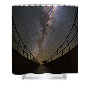 The Residencia At Night Shower Curtain