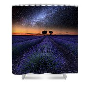 The Rise Of Dawn Shower Curtain