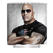 The Rock Dwayne Johnson I I Shower Curtain