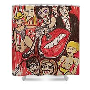 The Rocky Horror Picture Show Shower Curtain