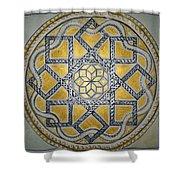 The Roman Mandala At Tomis Shower Curtain