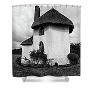 The Roundhouse Mono Shower Curtain