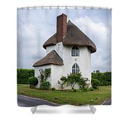 The Roundhouse Shower Curtain