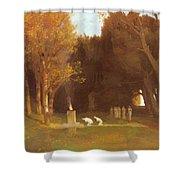 The Sacred Grove 1886 Shower Curtain