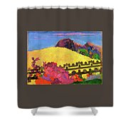 The Sacred Mountain - Digital Remastered Edition Shower Curtain