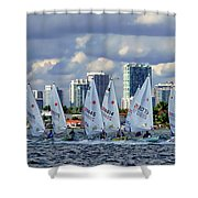 The Sailing Life Shower Curtain