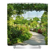The Scent Of Monet Shower Curtain