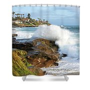 The Sea Was Angry That Day My Friends Shower Curtain