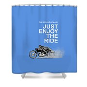 The Secret Of Life Shower Curtain
