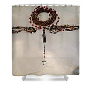 The September 11th Rosary One Shower Curtain