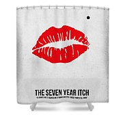The Seven Year Itch Shower Curtain
