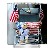The Ships Captain Shower Curtain