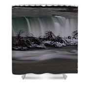 The Silky Horseshoe Falls Shower Curtain