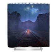 The Stars Of Locust Ridge Shower Curtain