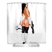 The Stormtrooper Shower Curtain