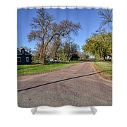 The Streets Of Bruce. Shower Curtain