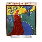 The Sun, American Vintage Poster Shower Curtain