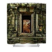 The Temple Shower Curtain by Jaroslaw Blaminsky
