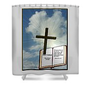 The Truth Will Set You Free Shower Curtain by Charles Robinson