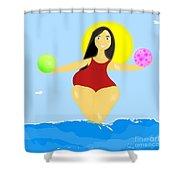 The Venus Of Equilibrium Shower Curtain