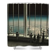 The View II Shower Curtain