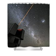 The Vlts Laser Guide Star Shower Curtain