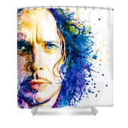 The Voice Of Seattle Shower Curtain