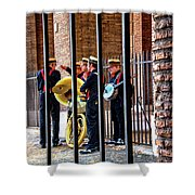 The Wedding Band Shower Curtain