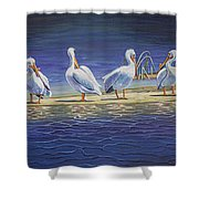 The Welcoming Committee Shower Curtain