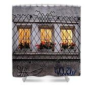 The Windows Of Sofia Shower Curtain