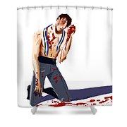The Winner Shower Curtain