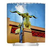 The Woofus - State Fair Of Texas Shower Curtain