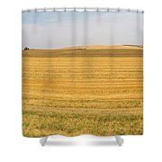 The Work Day Is Done Shower Curtain