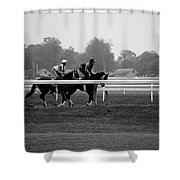 The Work Out Shower Curtain