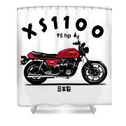 The Yamaha Xs1100 Shower Curtain