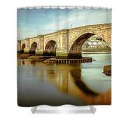 Three Bridges. Shower Curtain