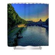 Tiber Evening Shower Curtain
