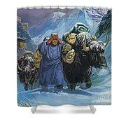 Tibet Shower Curtain