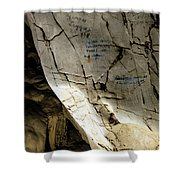 Tien Ong Cave - Halong Bay, Vietnam Shower Curtain
